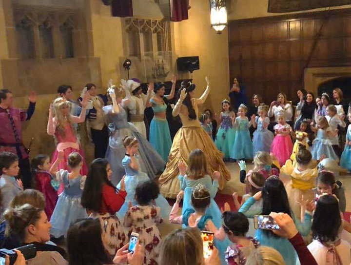 The Fairytale Princess Ball at Meadow Brook Hall in Rochester Hills Michigan