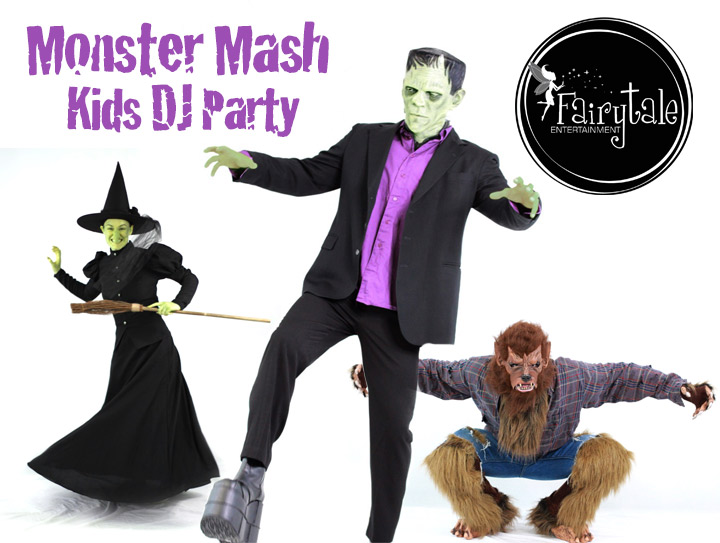 hire kids DJ for halloween party entertainment