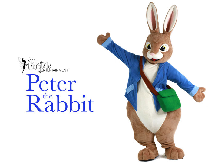 Hire Peter Rabbit Character Performer for Kids Parties and Events in Auburn Hills, Michigan