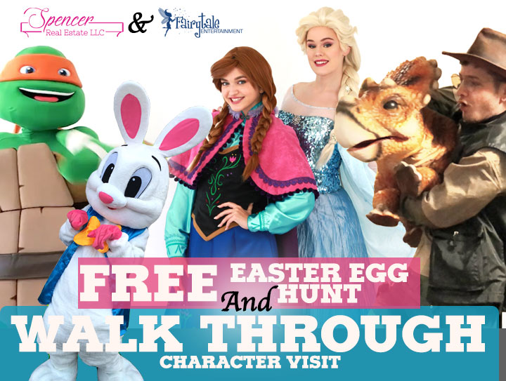 Free easter egg hunt with easter bunny in clarkston michigan