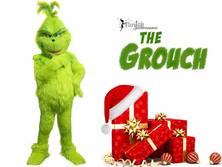 Grinch Christmas Party Character Entertainment