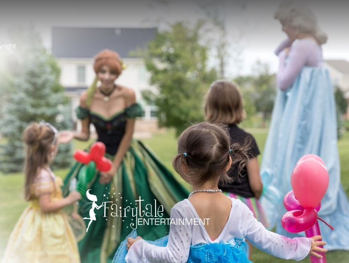 hiring a princess for a party in detroit grand rapids and chicago