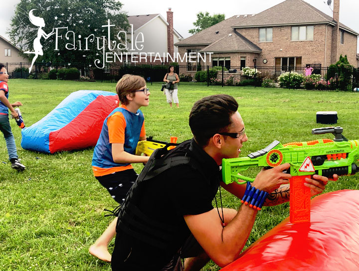 outdoor party entertainment for kids in michigan and illinois