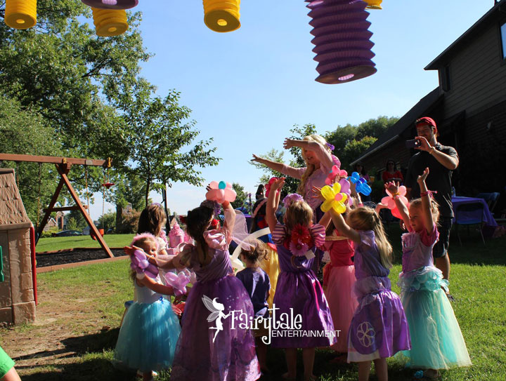 princess birthday party for kids