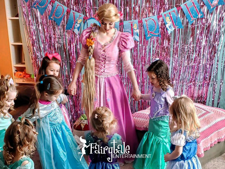 special offers coupon on princess party characters for kids birthday parties