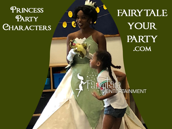 princess party michigan for kids birthday party entertainment