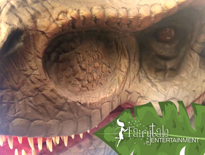 Rent a dinosaur for kids birthday party or special event in michigan and illinois