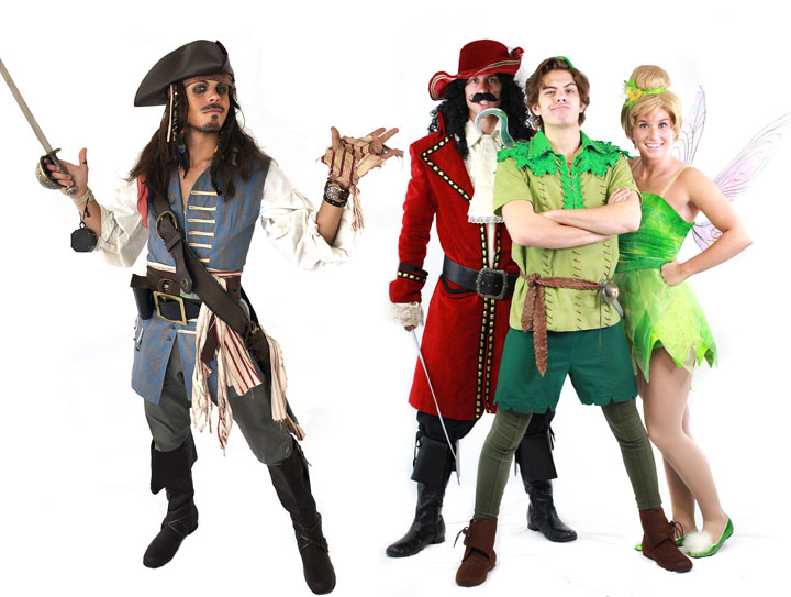 Pirate party character for kids in detroit chicago or grand rapids