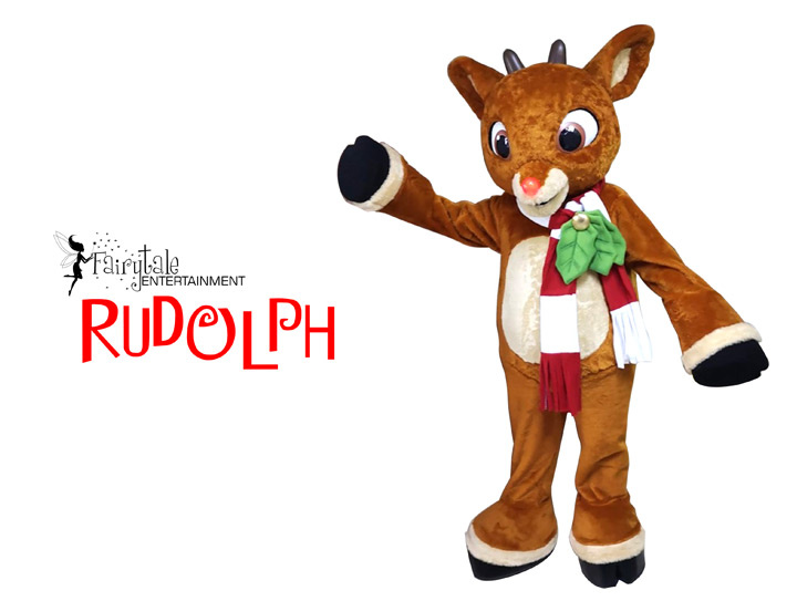 Holiday Characters for Parties Rudolph the Red Nosed Reindeer