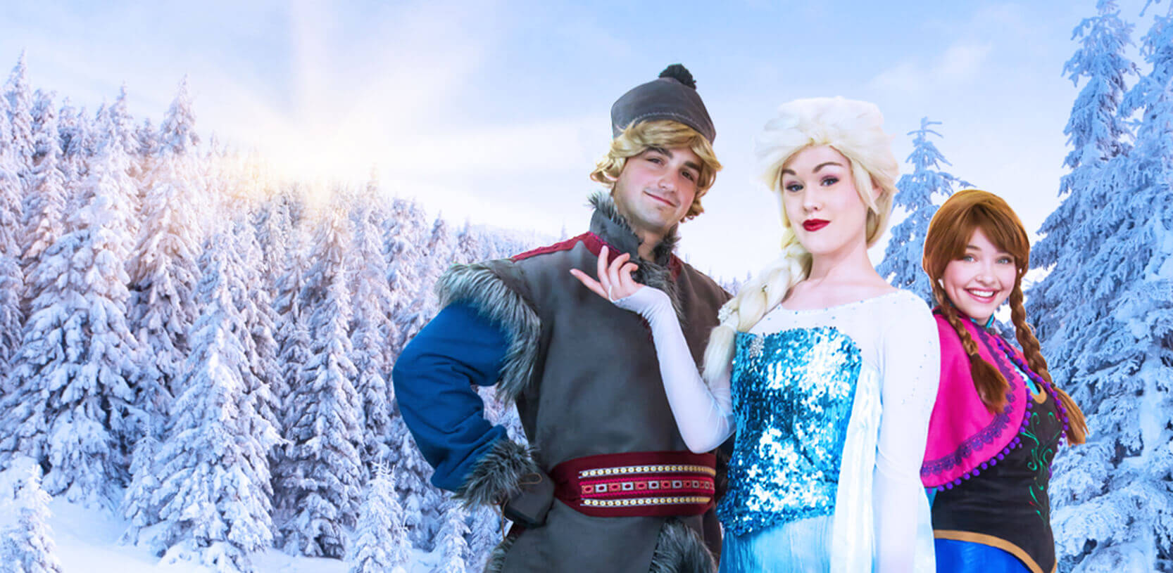 Frozen princess party in Auburn Hills, Naperville and Santa Ana
