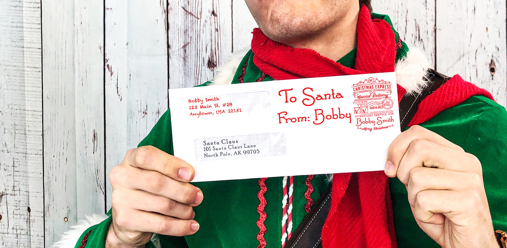 letters to santa christmas list project for kids