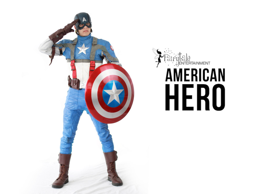 Captain America Character for Kids Party