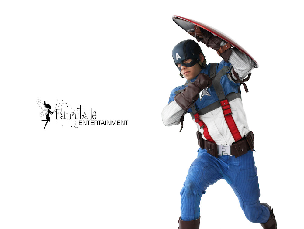 Rent Captain America Costume