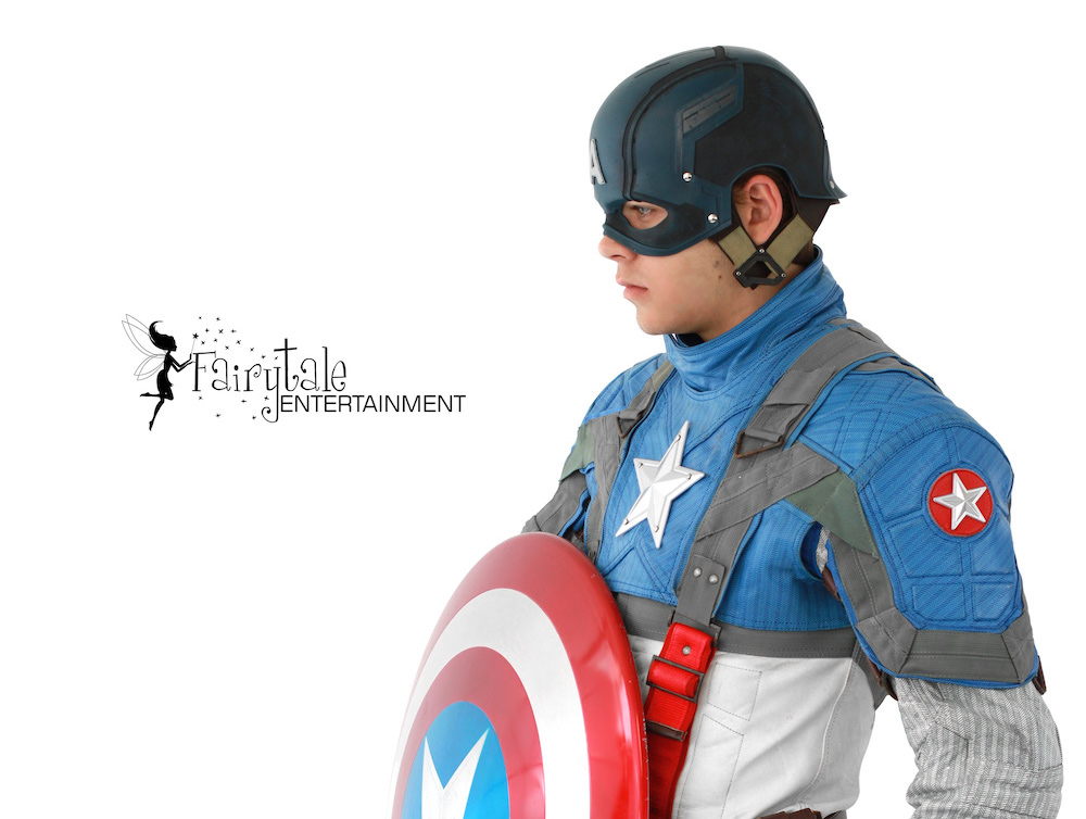 Captain America Performer