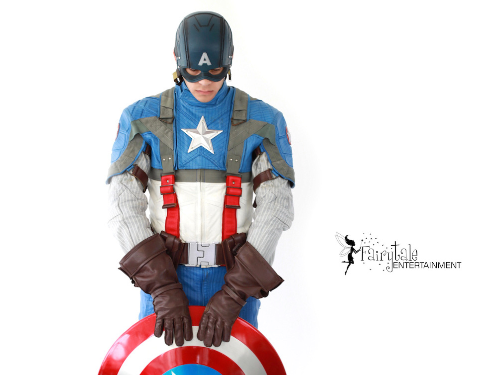Captain America entertainer