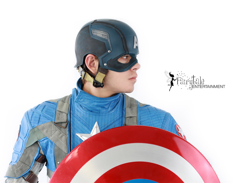 Captain America Superhero Character for Hire