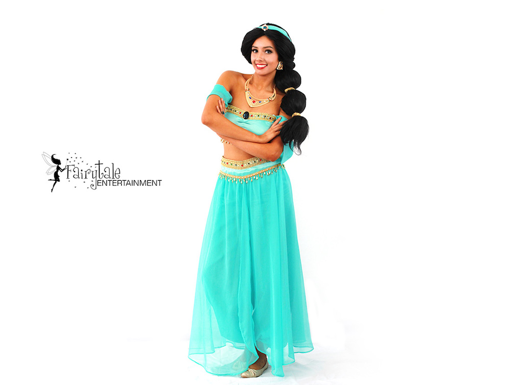 disney princess jasmine party character for birthday party