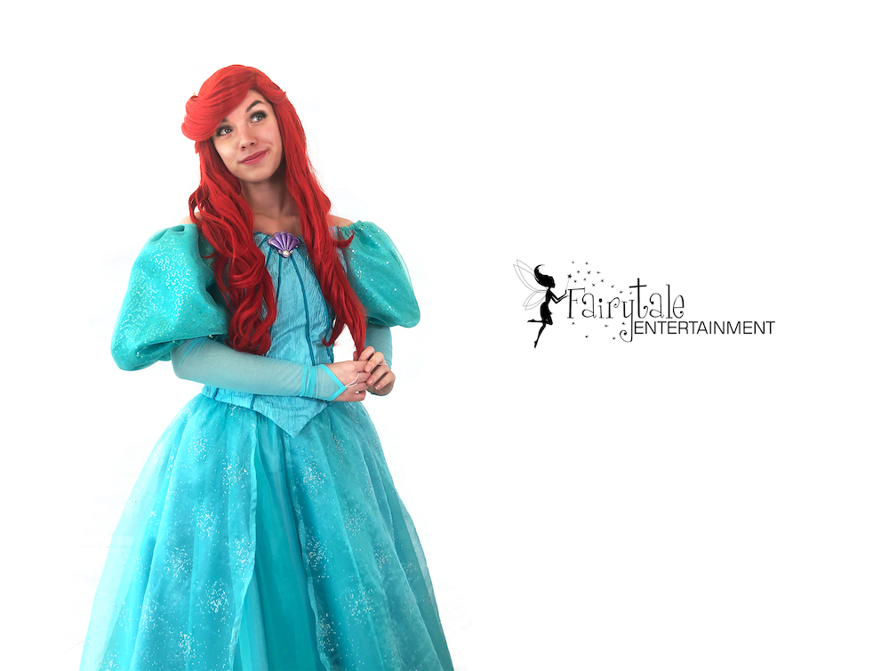 ariel characters for party