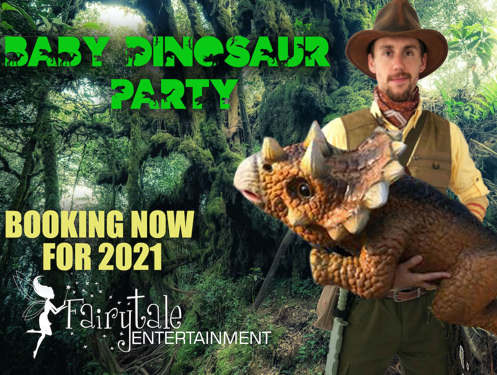 Baby Dinosaur Party Characters, Hire a Dinosaur Trainer for Kids Party, Baby Dinosaur Rental in Michigan, Realistic Baby Dinosaur Rental in Detroit, Dinosaur Entertainment Birthday Party