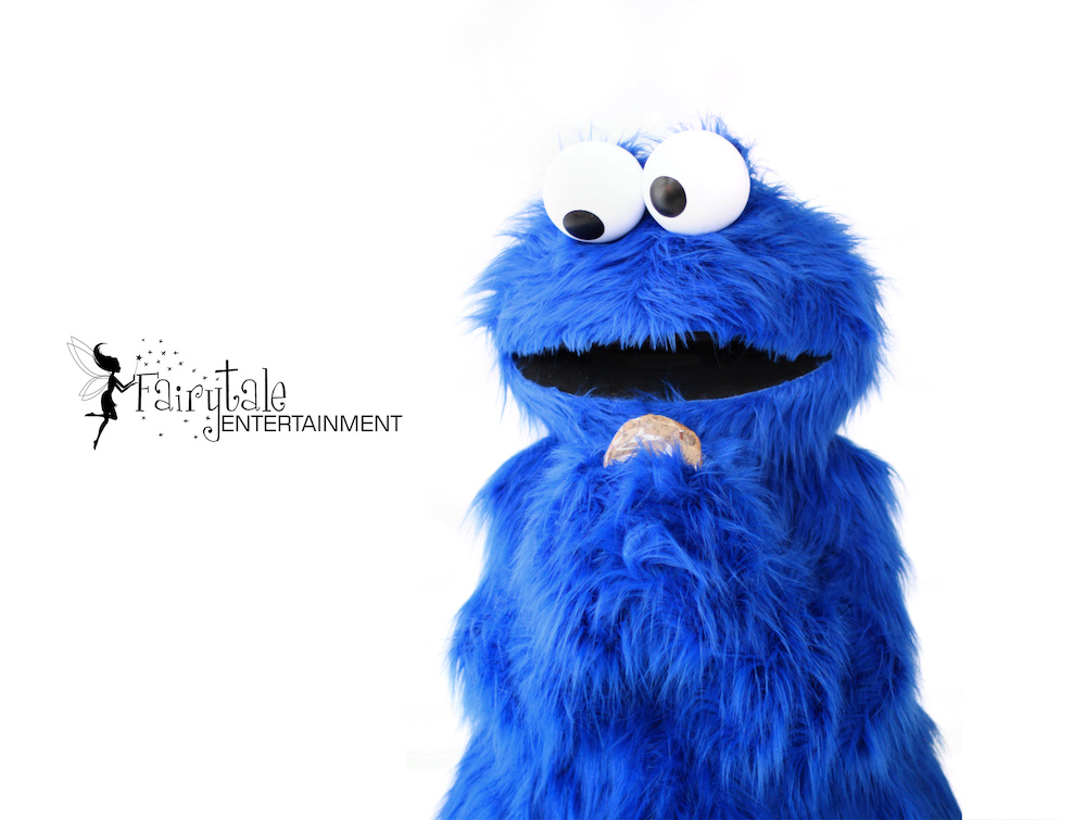 Sesame Street Cookie Monster Party Character for Kids