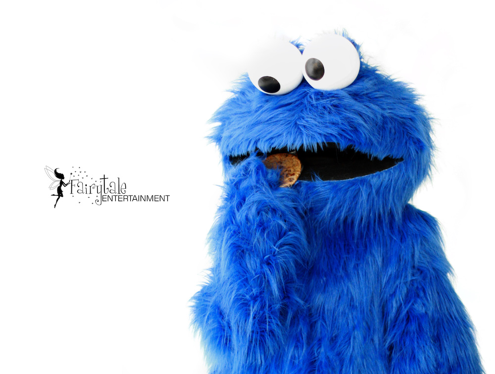 Cookie Monster Character for Hire in Michigan