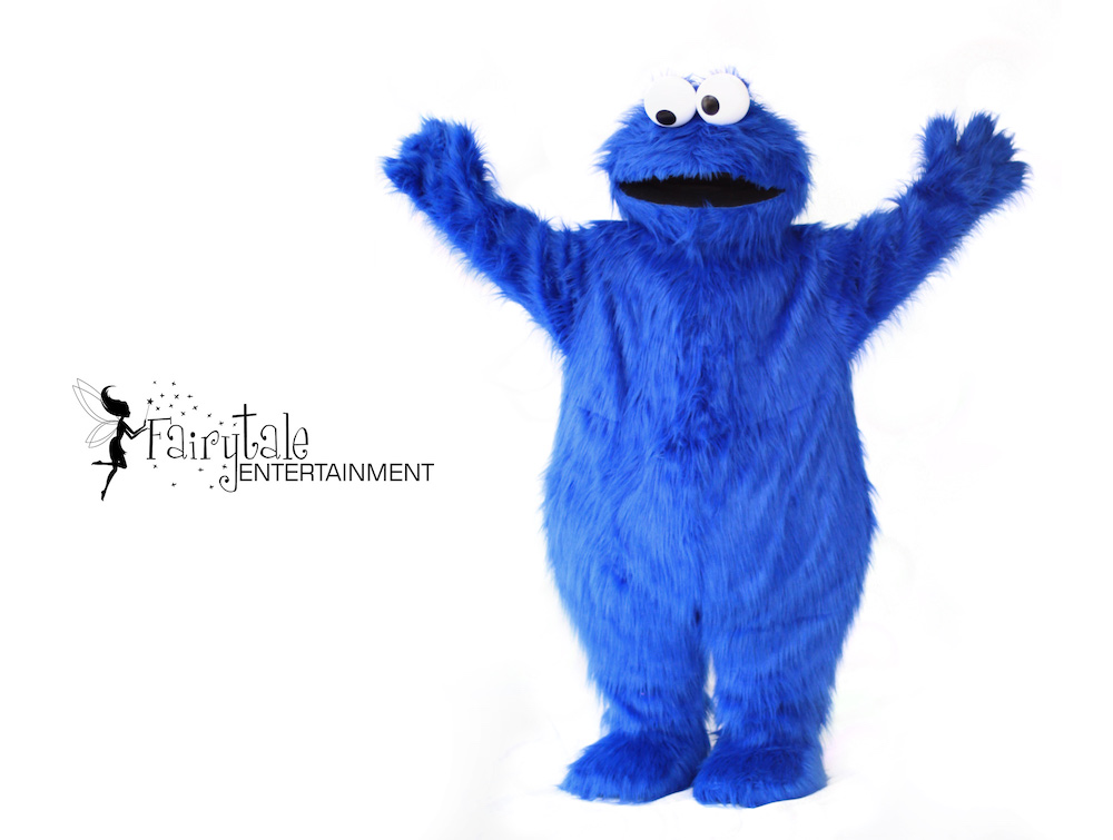 Hire Cookie Monster Party Character in Grand Rapids Michigan