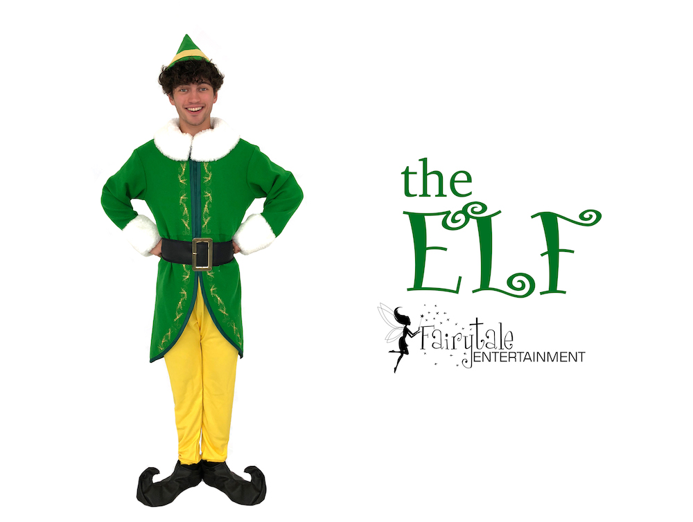 hire buddy the elf for christmas party entertainment