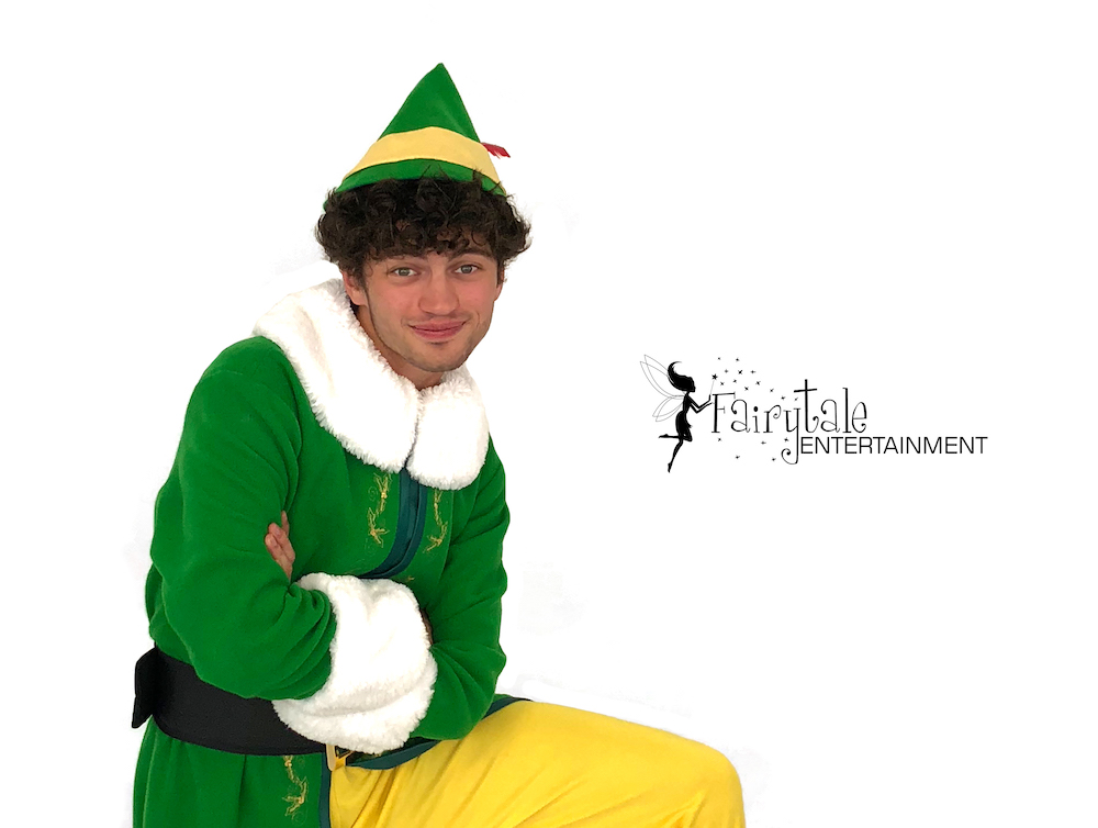 rent buddy the elf character for christmas party