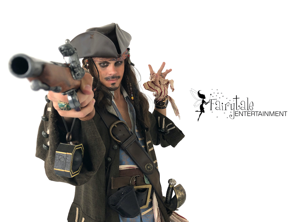 Rent Jack Sparrow for Kids Birthday Party, Pirate Party Characters for Kids Birthday Party