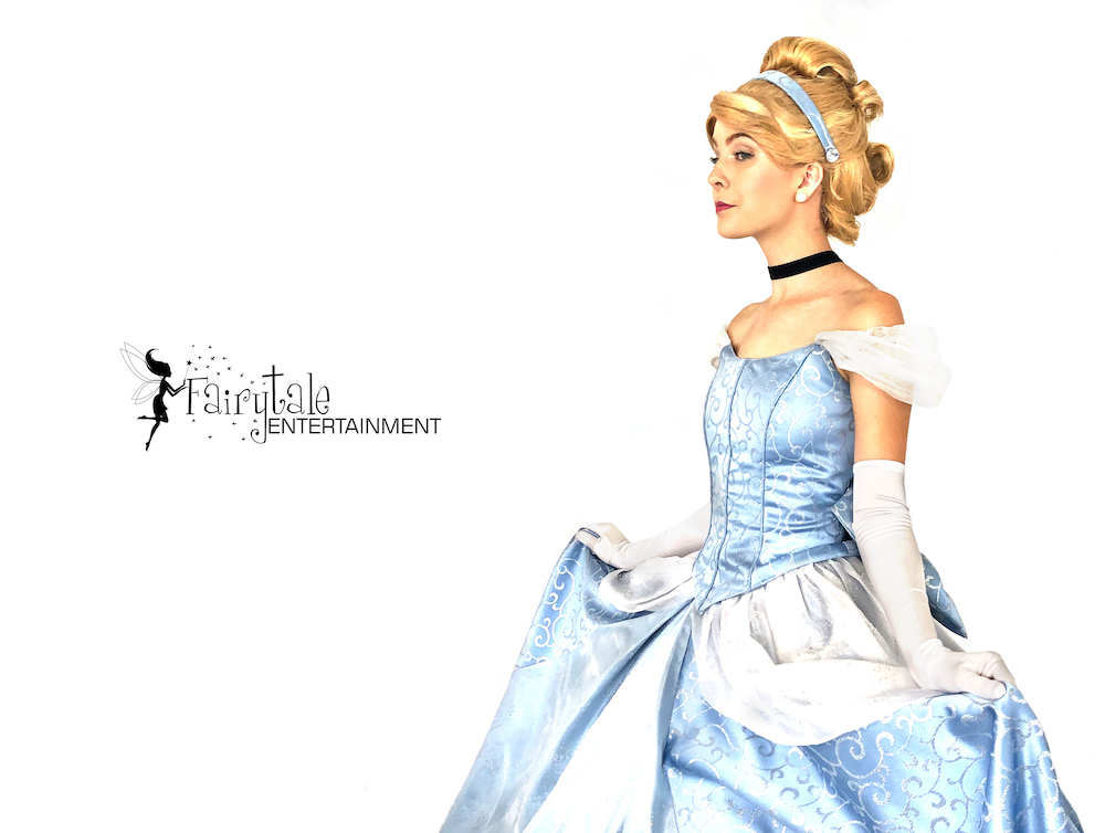 cinderella princess party character