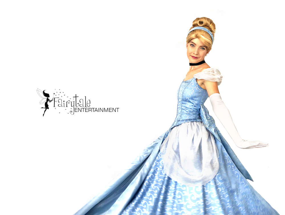 cinderella princess tea party character