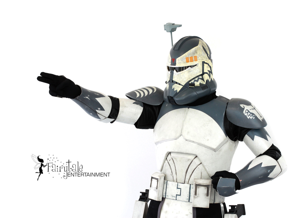 rent star wars commander wolf party character Byron Center