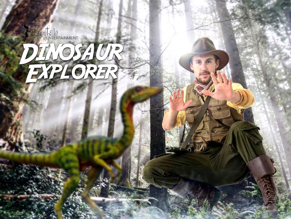 Dinosaur Party Characters, Dinosaur Party Characters Auburn Hills