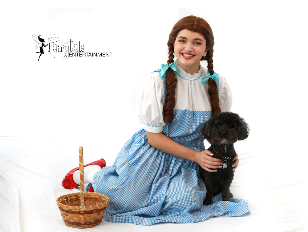 Dorothy Wizard of Oz for Kids Birthday Parties