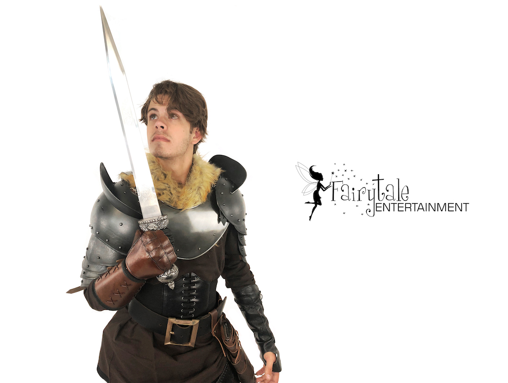 viking dragon warrior party character for kids