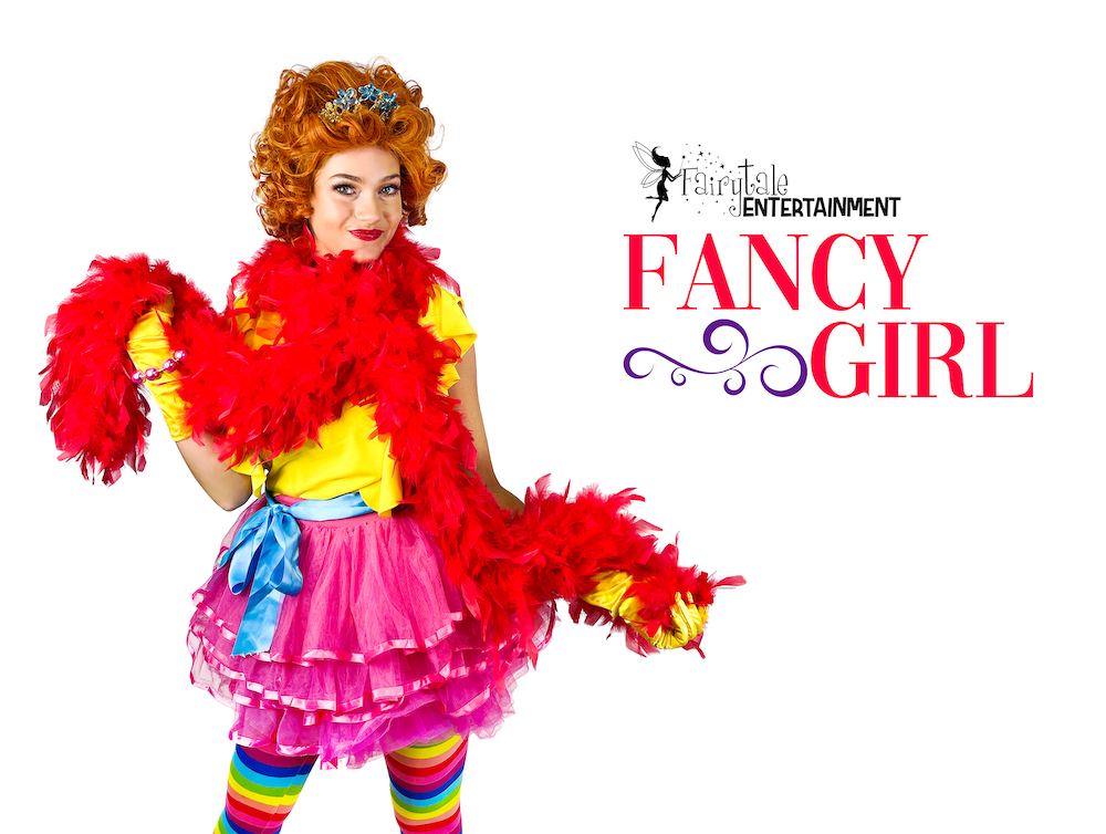 rent fancy nancy for kids birthday party in michigan and illinois
