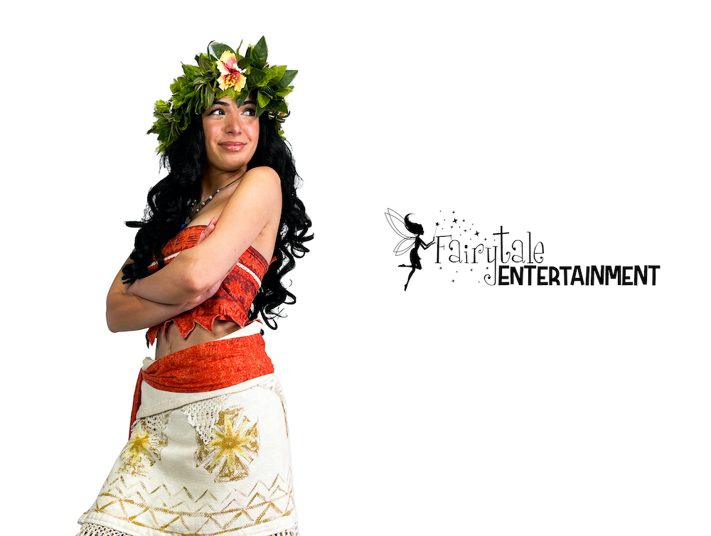 moana character for hire