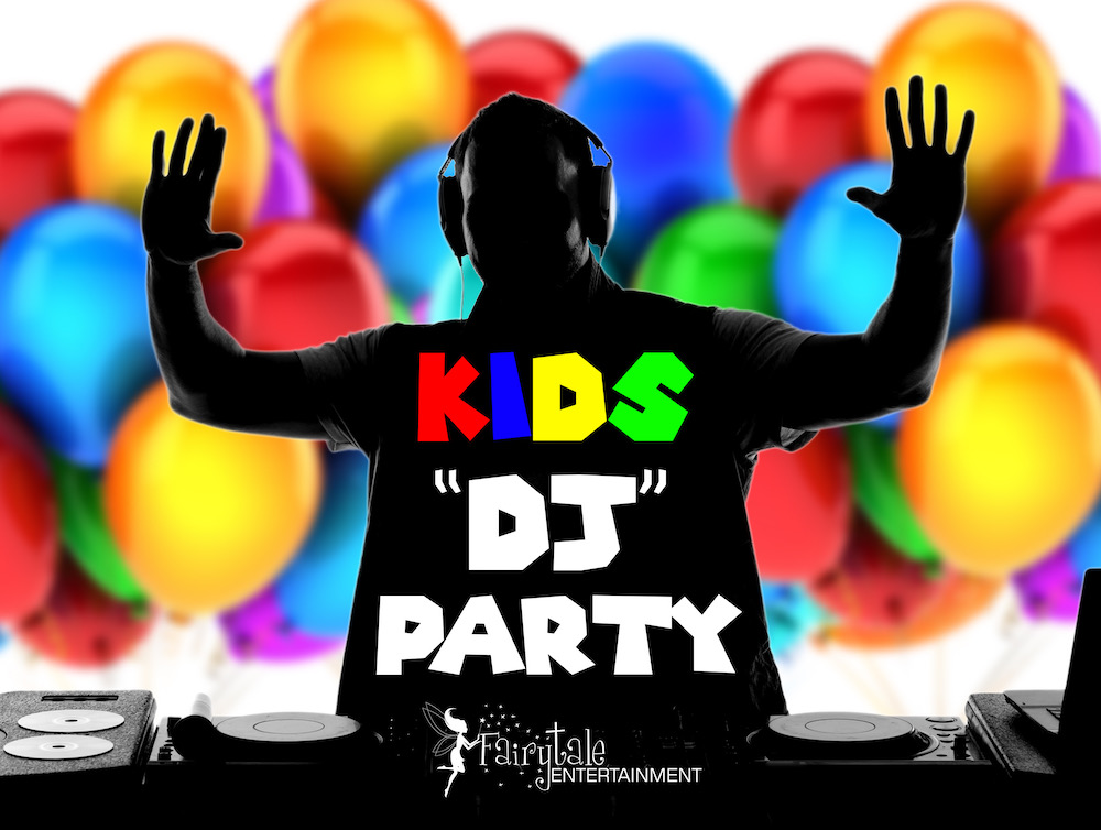 Kids DJ Parties Service for Kids, Hire DJ for Kids Parties in Detroit Michigan, Rent a DJ for Kids Birthday Parties