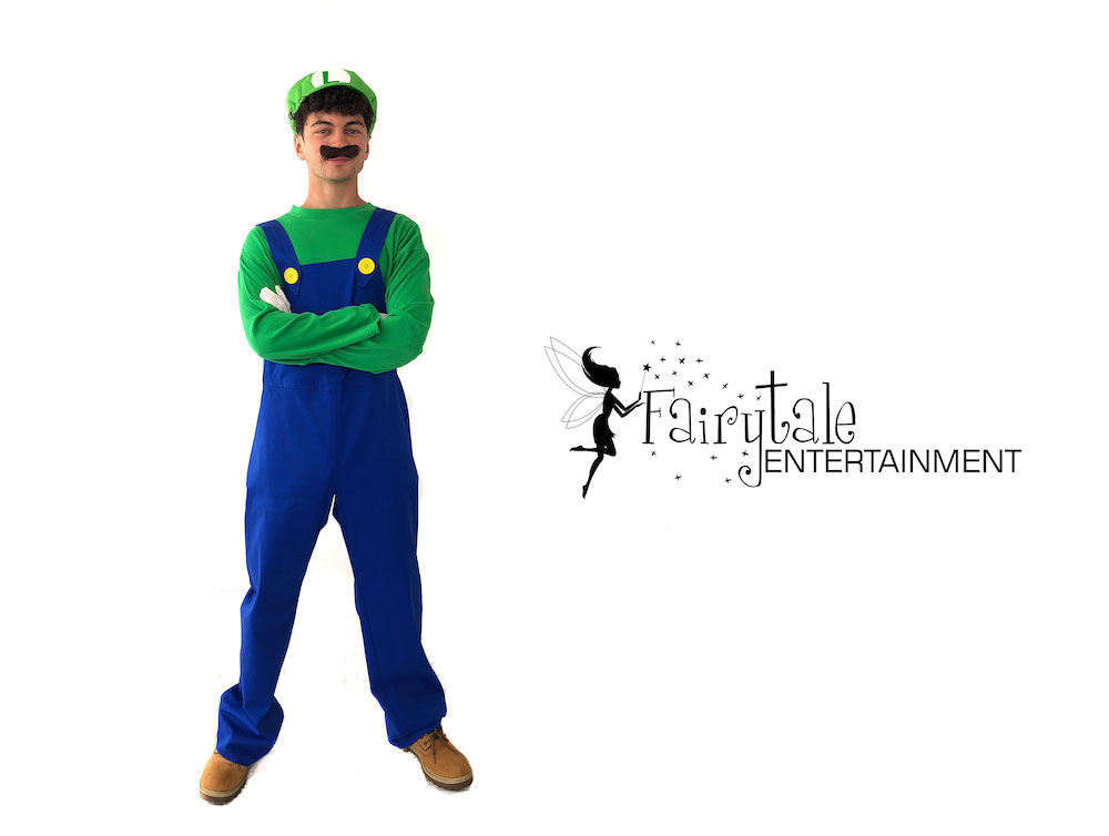 rent luigi for kids birthday party