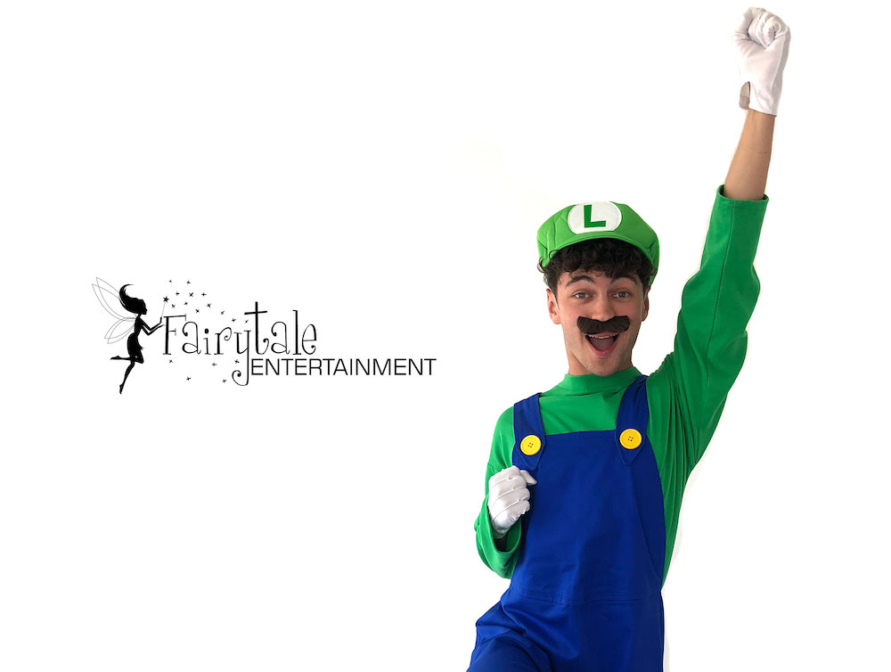 super mario bros party characters for hire, mario and luigi birthday party entertainment