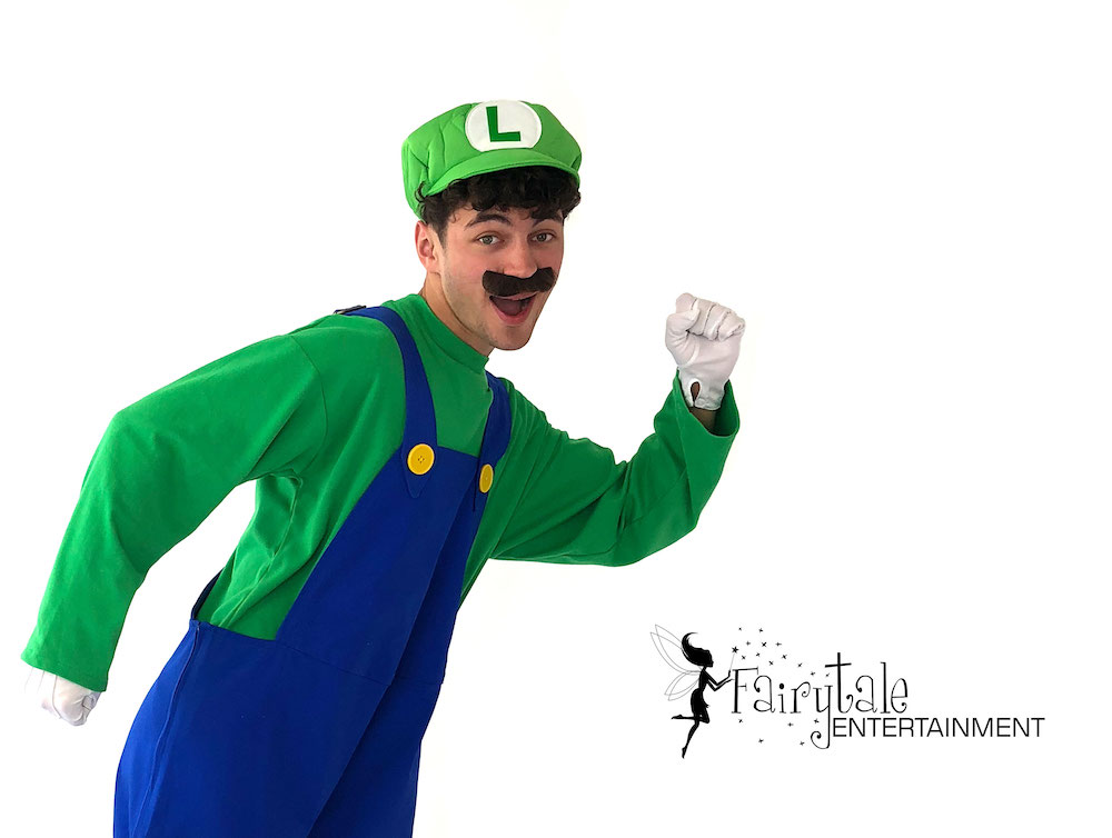rent mario and luigi for kids birthday party in detroit michigan