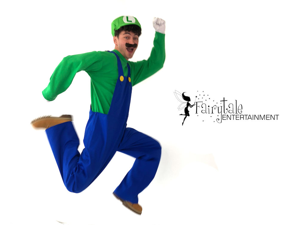 rent mario and luigi for kids birthday party in naperville illinois