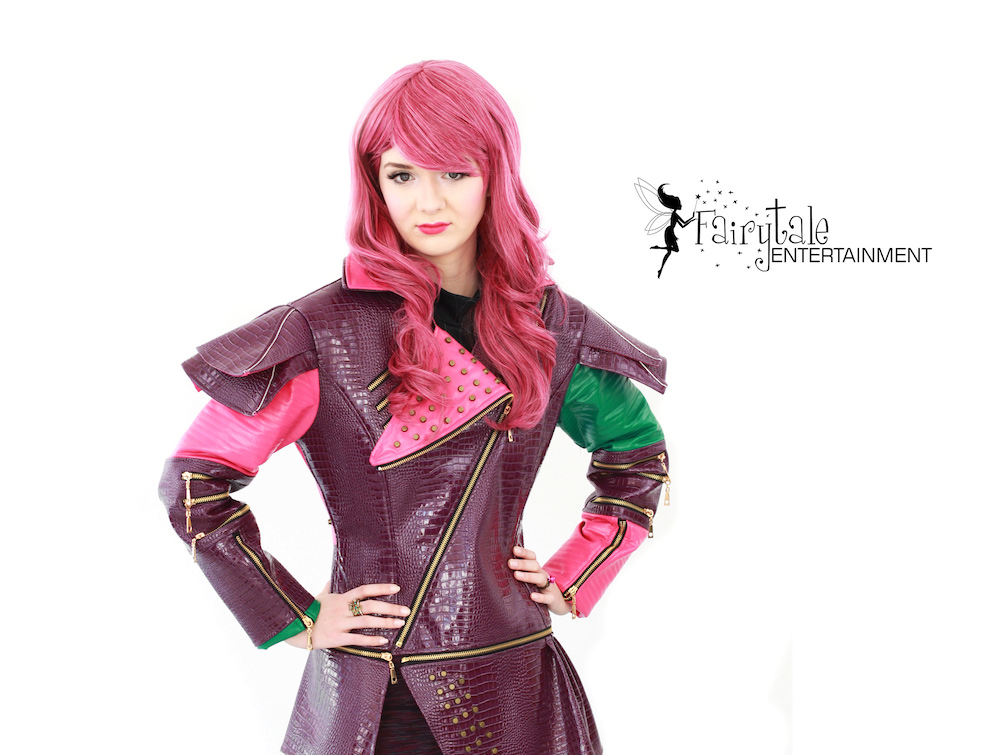 Mal Birthday Party Descendants Characters Fairytale
