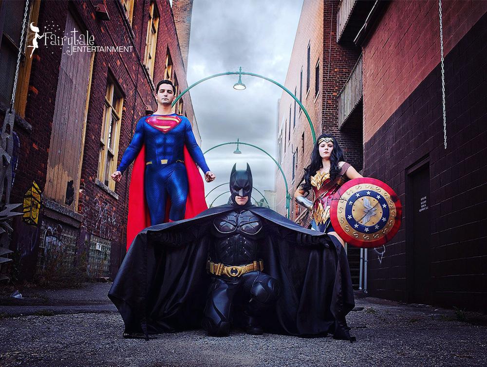 Superhero birthday party in Auburn Hills