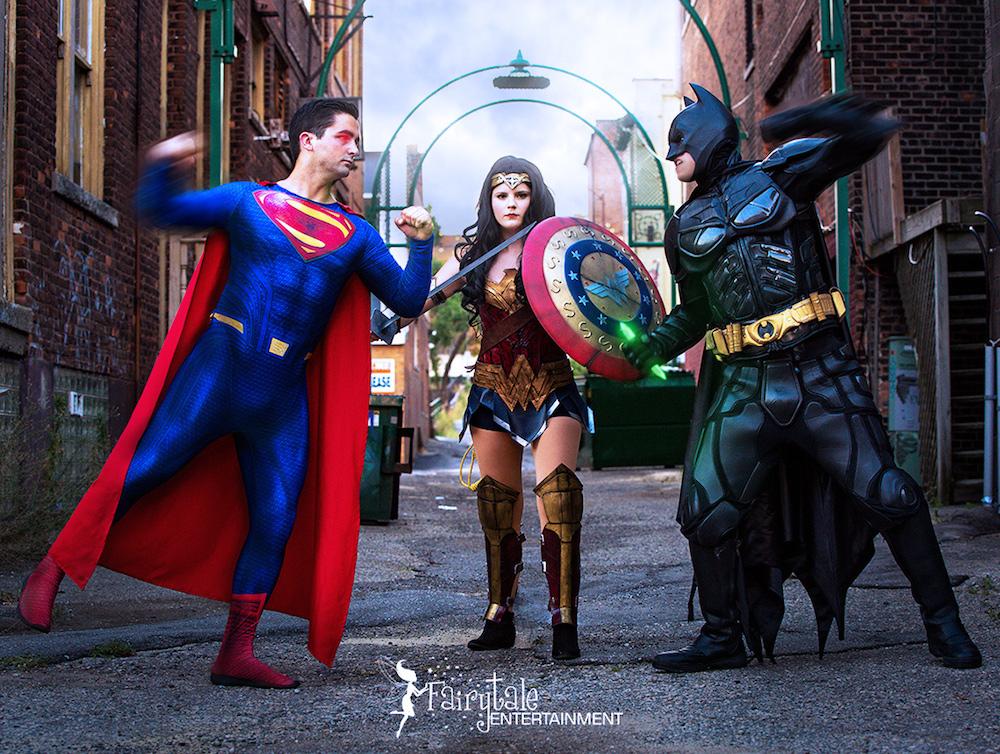 superhero birthday party in Naperville