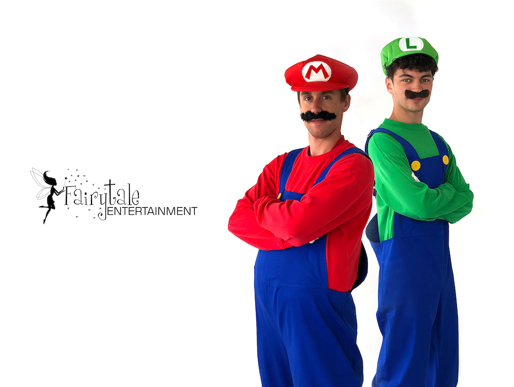 rent luigi for kids birthday party in Grand Rapids