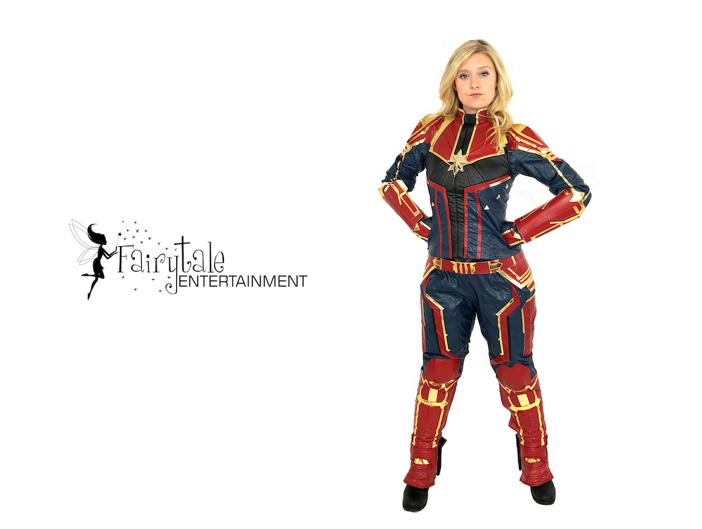 Captain Marvel Kids Birthday Party Character