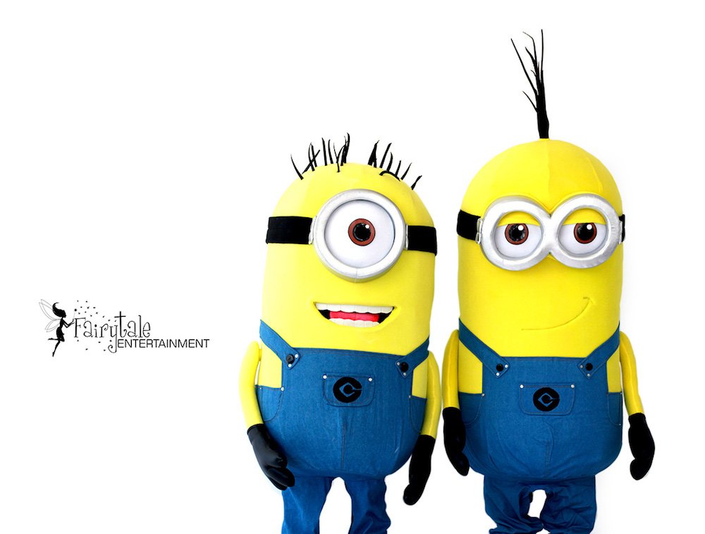 minions birthday party characters for hire  Grand Rapids