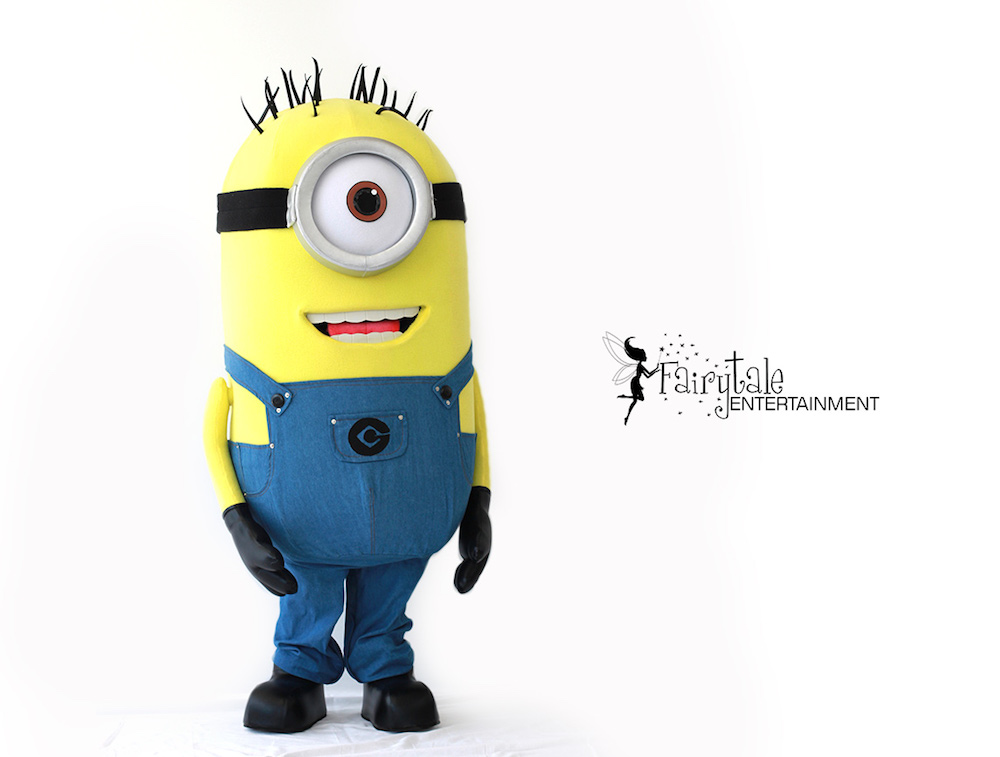 Rent Despicable Me minions party characters for kids