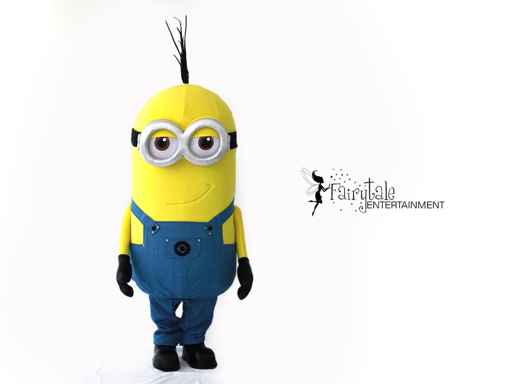 rent minions for kids birthday party